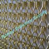 12mm shimmer silver hook link hanging string fly screen curtain