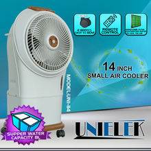 Electronic cheap room air cooler evaporator stand air cooler fan for room