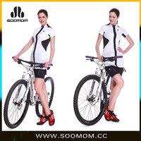 White cycling jersey sexy sport dress women jersey basketball jersey dresses for women