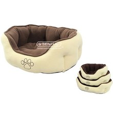 Sedex Audit 2015 NEW!!! Pet Bed Dog Puppy Bed with Paw Logo Low Price