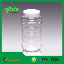 wholesaler spice jar plastic