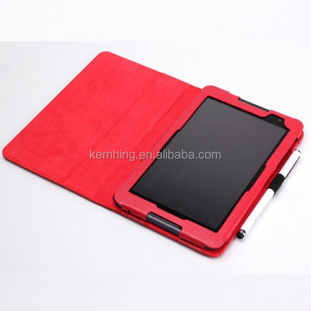 Flip leather stand case for Lenovo A8-50 A5500 folio cover