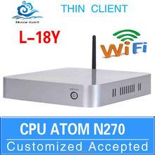 Run Linux/Ubuntu/window 7 wintel mini pc usb pc Nettop Intel 2G RAM 32G SSD l18y n270