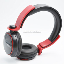 3.5mm adjustable MP3/MP4/MEDIA PLAYER HEADPHONE WITH MICROPHONE AND CHEAP PRICE