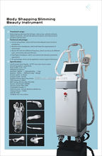 High perfomance salon machine Cavitation&MultipolarRF&Vacuum System/slimming machine for Connective tissue thightening