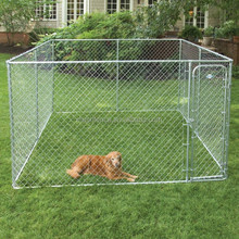Alibaba china chain link wire mesh fencing dog kennel