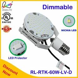 Nichia Mea well 277v UL DLC CUL LED Gas station light 30W Canopy