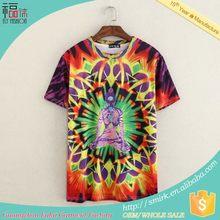 DK111 popular top sell digital printing cotton children t-shirt