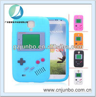 Game Player Shaped Candy Color Soft Silicone Protective Back Case for Samsung Galaxy S4 i9500 - Five Colors for Choice