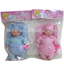 Macia boneca de brinquedo boneca dos desenhos animados presente renascer bebê menino e menina com 4IC som