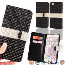 5.5 inch diamond phone cover by cell phone cases manufacturer funky mobile phone case for iPhone 6 plus