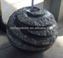 water fountain marble ball