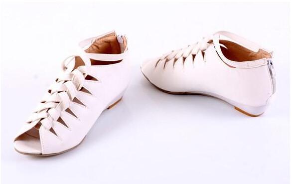 новые летние сандалии атласное молния Рим после работы сандалии на каблуке Низкий Каждодневный Босоножки больших ярдов 34-43