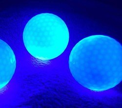 LED golf ball practice led flashing golf ball,light up golf ball