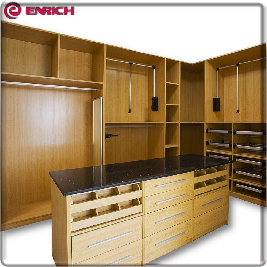 Fancy Bedroom Wardrobe Plywood Wall Almirah Designs: Flat Packing Bedroom Standard Size Aluminum Pole System Walk In Wardrobe Closet