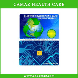 Japanese technology Electricity Saver Card with above 5000cc ions,reduce heat and electrical current lost