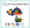 Y81F-1600 scrap metal compressor machine air condition shell bale making machine(factory and supplier)