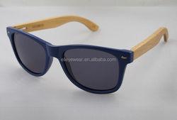 Custom bamboo sunglasses wood PC frame