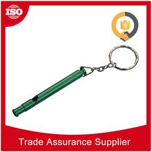 OEM ODM Welcome best price keyfinder keychain flat whistle