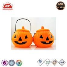 2015 Halloween plastic pumpkin artificial pumpkin,halloween pumpkin light decorations
