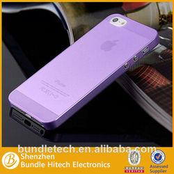 0.3 mm Ultra Thin Matte Cover Transparent Case For iPhone 5 5S