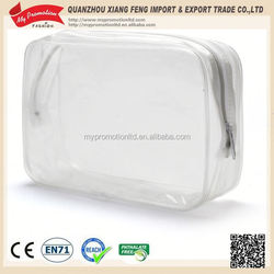 2015 foldable pvc cheap makeup bags and cases