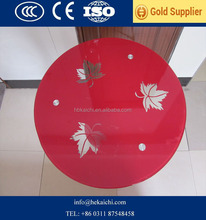 High quality 15mm round table top glass (round,oval,square,rectangle)