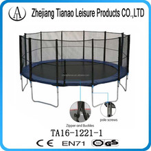 fitness equipment wholesale 5m trampoline with basketball hoops and ladder