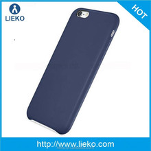 ultrthin 1.1mm leather skin case for iphone 6 leather case