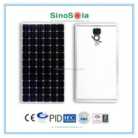 25 years warranty monocrystaline 180w solar panel with good price