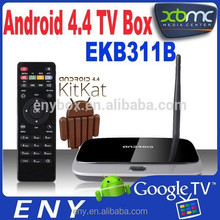 ENY hot sales Rockchips 3188 kitkat android tv box with skype