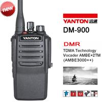 DMR Radio VHF Handheld IP66 Waterproof AMBE 3000++ OEM Brand DM-900