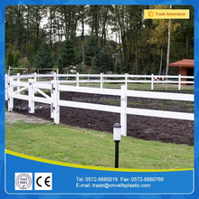 Vinyl fencing post and rail