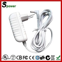 High Efficiency 100-240V AC DC Adapter 12V 2A Single Output with White or Black color