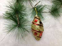 2014 Christmas tree decoration 8CM 10cm colorful Foam olive Ornament Manufacturer Gift