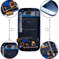 Mobile Phone Display S3 LCD Touch Digitizer Screen for Samsung
