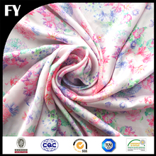 Imported silk fabric digital printed with your designs