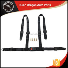wholesale China trade Auto Racing 2 inch 4-Point bride red 4-point harness racing seatbelt