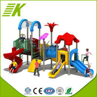 Fitness Trampoline/Large Childrens Slide/Outdoor Equipment Slide And Climb