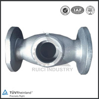 Customized cast iron casting double regulating valve