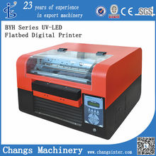 BYH UV Curable Flatbed Inkjet Printer digital flat bed printer acrylic printer