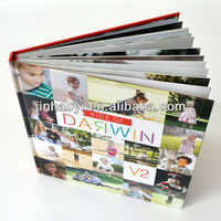 High quality cardboard photo book