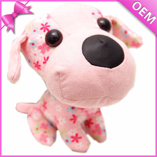 Colored Printing Body Adorable Stuffed Plush Dog Toy, Mini Plush Dog, Small Plush Dogs