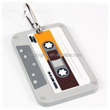 Difference kinds of the customer design PVC luggage tag