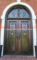 2013 Hot Sales used commercial glass doors of Wrought iron
