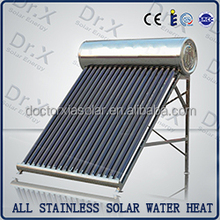 Integrated non-pressurized home solar power water heater system