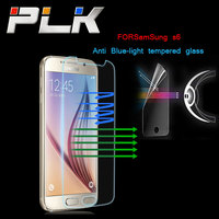Anti-blue Light Premium Tempered Glass LCD Screen Film Protector Guard for Samsung Galaxy S6