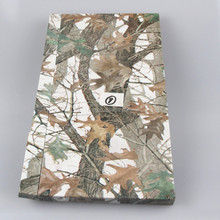Camouflage metal host computer cover water transfer printing process