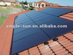 Thin film a-si solar module (Building Integrated photovoltaic solar panel) BIPV roofing solar panel 100W