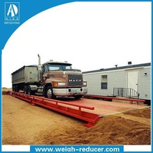 High Quality OMIL 3x12m 50 ton truck scale